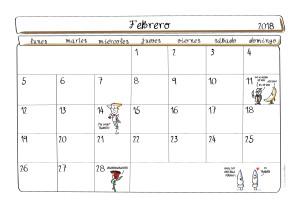 Calendario 2018-07