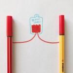 Homenaje al día internacional de los donantes de sangre