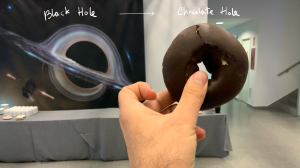 Black hole : Chocolate Hole